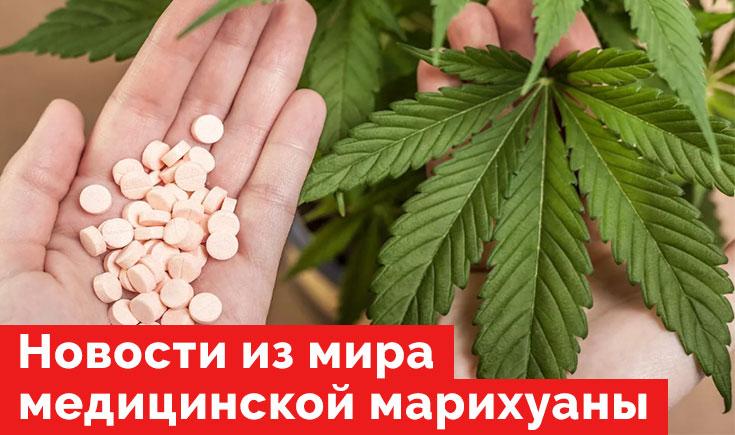 Медицинская марихуана на начало февраля 2020 года