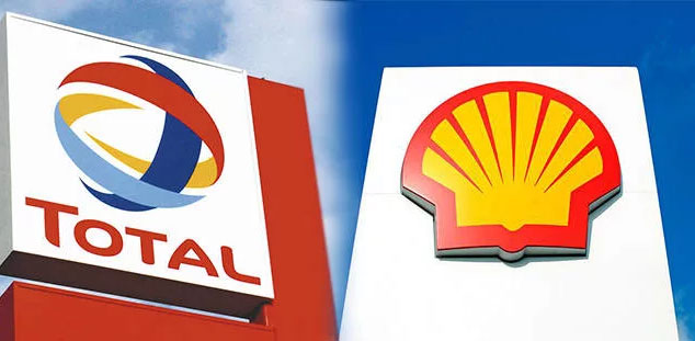 Total и Royal Dutch Shell