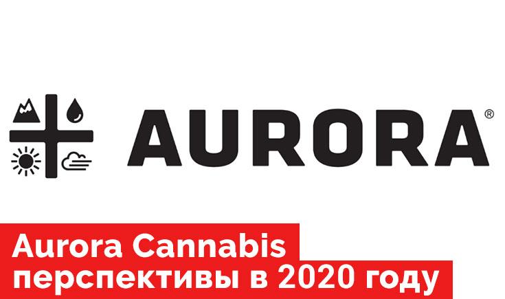 Aurora Cannabis перспективы в 2020 году.