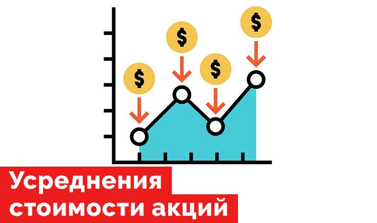 Усреднения стоимости акций. Преимущества и недостатки.